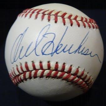 Orel Hershiser Autographed NL Giamatti Baseball JSA KK52628 (Reed Buy)