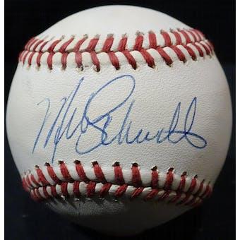Mike Schmidt Autographed NL Giamatti Baseball JSA KK52730 (Reed Buy)