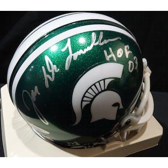 Joe DeLamielleure Michigan State Auto Football Mini Helmet (HOF 03) TriStar 3048888 (Reed Buy)