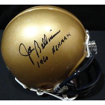 Joe Bellino Navy Midshipmen Auto Football Mini Helmet (1960 Heisman) TriStar 5027590 (Reed Buy)