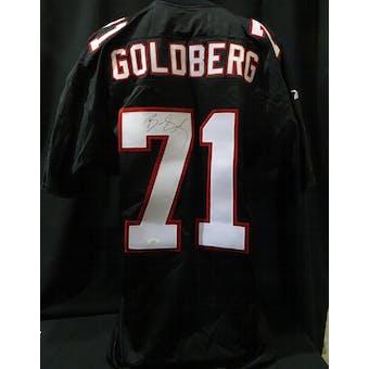 Bill Goldberg Atlanta Falcons Autographed Team Issued Jersey (98 Reebok 50+2) JSA KK52037 (Reed Buy)