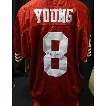 Steve Young San Francisco 49ers Autographed Authentic Jersey (Wilson 52) JSA KK52050 (Reed Buy)