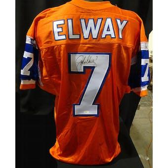 John Elway Denver Broncos Auto NFL 75th Authentic Throwback Jersey (Wilson 48) JSA KK52018 (Reed Buy)