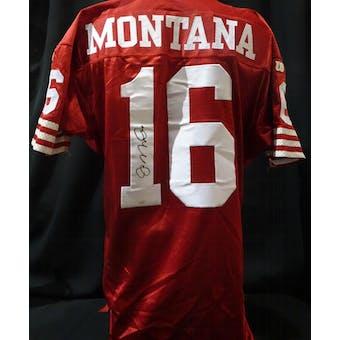 Joe Montana San Francisco 49ers Auto Authentic Jersey (Wilson 46) JSA KK52001 (Reed Buy)