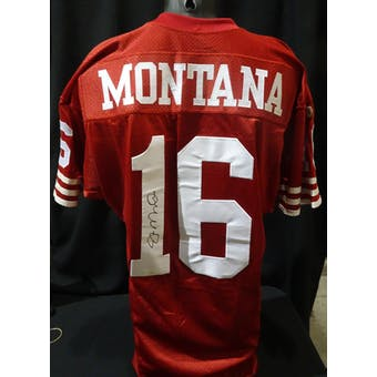 Joe Montana San Francisco 49ers Autographed Authentic Jersey (Wilson 46) JSA KK52002 (Reed Buy)