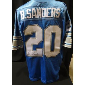 Barry Sanders Detroit Lions Autographed Authentic Jersey (Wilson 52) JSA KK52025 (Reed Buy)