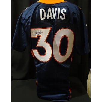 Terrell Davis Denver Broncos Autographed Team Issued Jersey (98 Nike 48) JSA KK52030 (Reed Buy)