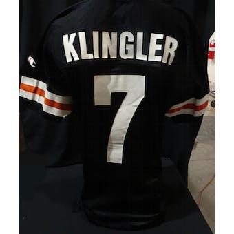 David Klinger Cincinnati Bengals NFL 75th Throwback Jersey (94 Champion 48 Exclusive Tag) (Reed Buy)