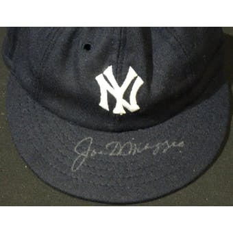 Joe DiMaggio New York Yankees Autographed Baseball Hat JSA BB42539 (Reed Buy)