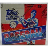 1981 Topps Baseball Cello Box (BBCE) (Reed Buy)