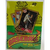 1987 Topps Baseball Wax Box (BBCE) (FASC) (Reed Buy)