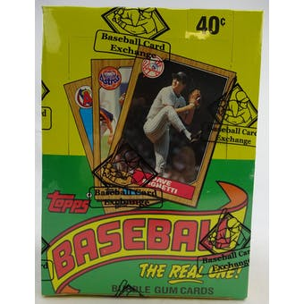 1987 Topps Baseball Wax Box (BBCE) (Reed Buy)