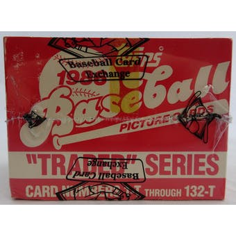 1986 Topps Traded & Rookies Baseball Factory Set (BBCE) (Tape Intact) (Reed Buy)