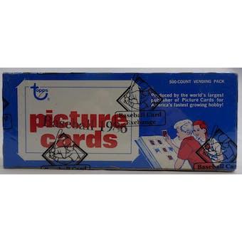 1986 Topps Baseball Vending Box (BBCE) (FASC) (Reed Buy)