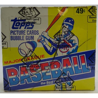 1983 Topps Baseball Cello Box (BBCE) (Reed Buy)