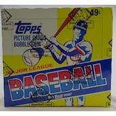 1984 Topps Baseball Cello Box (BBCE) (Reed Buy)