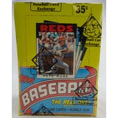1986 Topps Baseball Wax Box (BBCE) (Reed Buy)