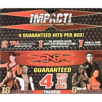 2008 Tristar TNA Impact Wrestling Hobby Box