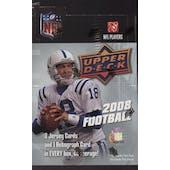2008 Upper Deck Football Hobby Box