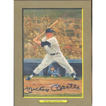 Mickey Mantle New York Yankees Autographed Perez-Steele Great Moments JSA BB42457 (Reed Buy)