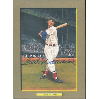 Ted Williams Boston Red Sox Autographed Perez-Steele Great Moments JSA BB42460 (Reed Buy)