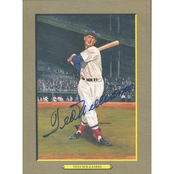 Ted Williams Boston Red Sox Autographed Perez-Steele Great Moments JSA BB42463 (Reed Buy)