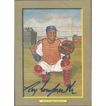 Roy Campanella Brooklyn Dodgers Autographed Perez-Steele Great Moments JSA BB42464 (Reed Buy)