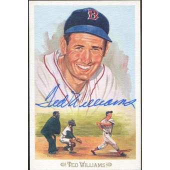 Ted Williams Boston Red Sox Autographed Perez-Steele Celebration JSA BB42466 (Reed Buy)