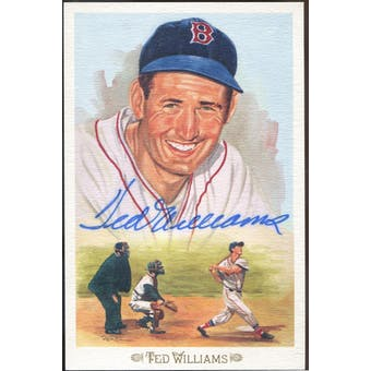 Ted Williams Boston Red Sox Autographed Perez-Steele Celebration JSA BB42467 (Reed Buy)
