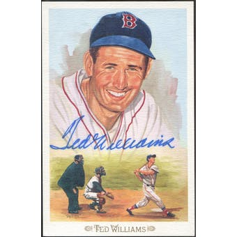 Ted Williams Boston Red Sox Autographed Perez-Steele Celebration JSA BB42468