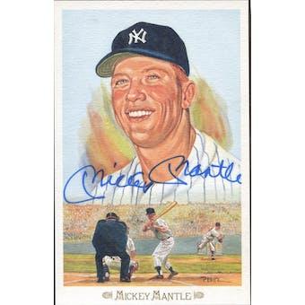 Mickey Mantle New York Yankees Autographed Perez-Steele Celebration JSA BB42469