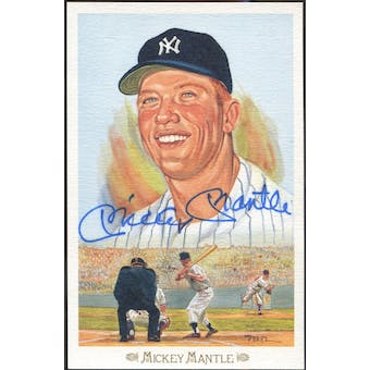Mickey Mantle New York Yankees Autographed Perez-Steele Celebration JSA BB42470 (Reed Buy)