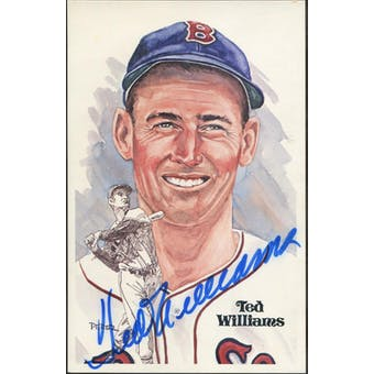 Ted Williams Boston Red Sox Autographed Perez-Steele JSA BB42476 (Reed Buy)
