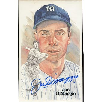 Joe DiMaggio New York Yankees Autographed Perez-Steele JSA BB42479 (Reed Buy)