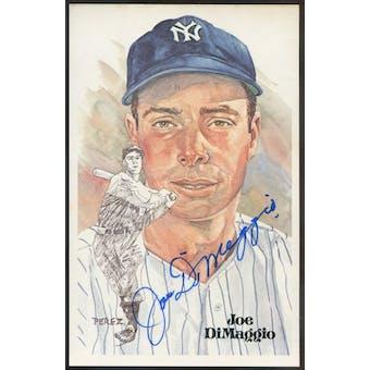 Joe DiMaggio New York Yankees Autographed Perez-Steele JSA BB42480 (Reed Buy)
