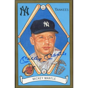 Mickey Mantle New York Yankees Autographed Perez-Steele Master Works JSA BB42484 (Reed Buy)