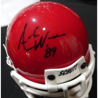 Andre Ware Houston Cougars Autographed Football Mini Helmet ('89) TriStar 0266932 (Reed Buy)