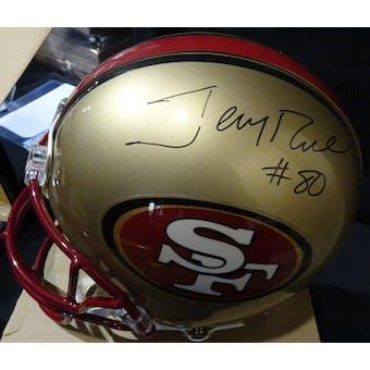 Jerry Rice San Francisco 49ers Autographed ProLine Helmet JSA KK52813 (Reed Buy)