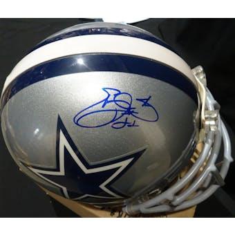 Emmitt Smith Dallas Cowboys Auto Football ProLine Helmet Steiner/JSA KK52806 (Reed Buy)