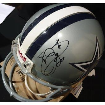 Emmitt Smith Dallas Cowboys Autographed Football ProLine Helmet JSA KK52808 (Reed Buy)