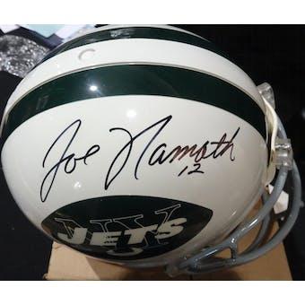 Joe Namath New York Jets Autographed Football ProLine Helmet JSA BB54078 (Reed Buy)