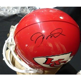 Joe Montana Kansas City Chiefs Auto Football ProLine Helmet UDA UDS19458 (Reed Buy)
