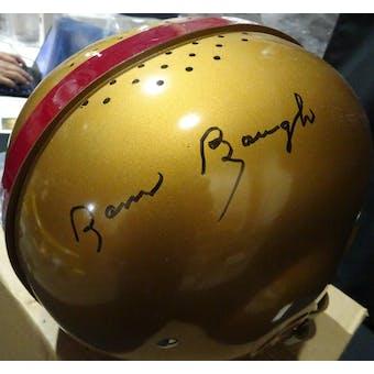 Sammy Baugh Washington Redskins Auto Football Suspension Helmet JSA BB54076 (Reed Buy)