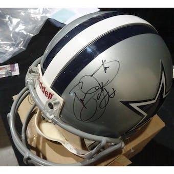 Emmitt Smith Dallas Cowboys Autographed Football ProLine Helmet JSA KK52767 (Reed Buy)