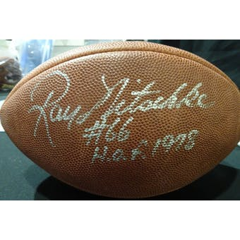 Ray Nitschke Autographed Official NFL Football (HOF 1978) JSA BB54090 (Reed Buy)