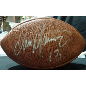 Dan Marino Autographed Official NFL Football JSA KK52858 (Reed Buy)