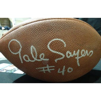Gale Sayers Autographed Official NFL Football JSA KK52855 (Reed Buy)