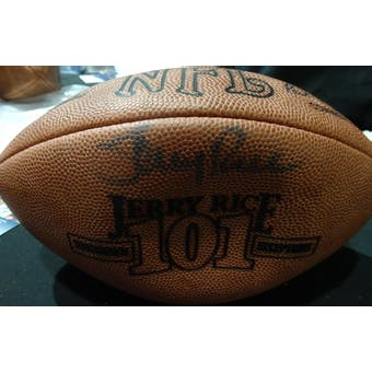 Jerry Rice Autographed Official NFL Football JSA KK52856 (Reed Buy)