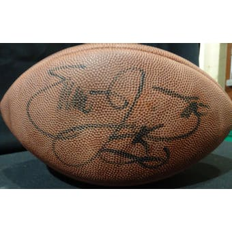 Emmitt Smith Autographed Super Bowl 28 NFL Game Ball JSA KK52857 (Reed Buy)