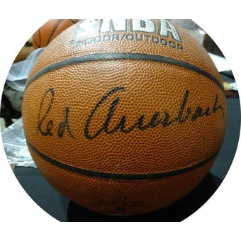 Red Auerbach Autographed NBA Indoor/Outdoor Basketball JSA KK52776 (Reed Buy)